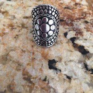 John Hardy sterling silver 925 dot ring Sz 7